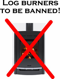 Ban the log burner