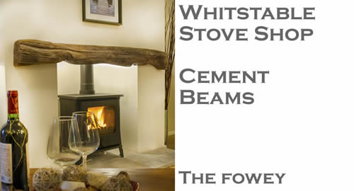 'Oak beams' - made using specially formulated cements and aggregates