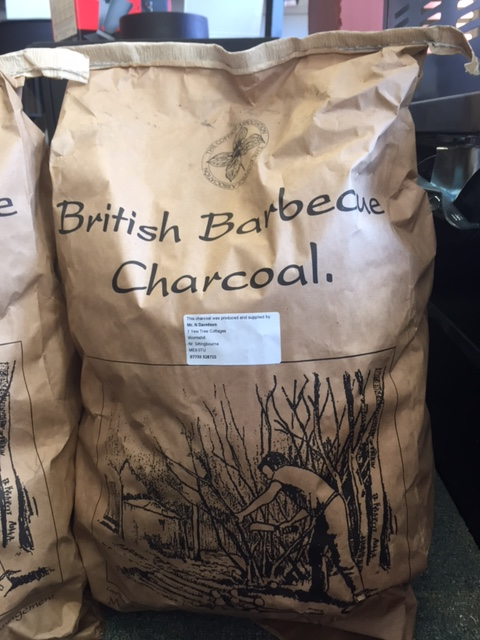 Locally produced charcoal from sustainable sources