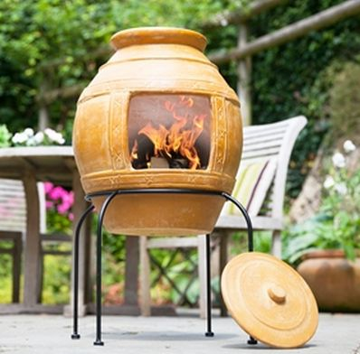 Large honeypot chimenea
