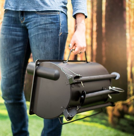 Frontier stove, portable cooking